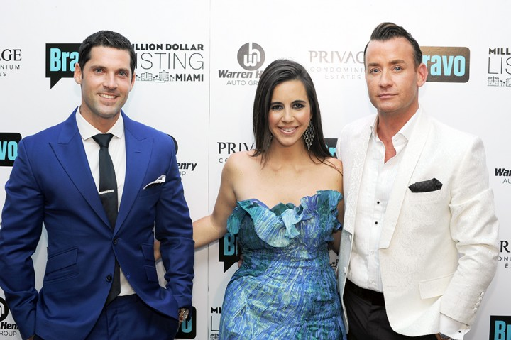 Million Dollar Listing Premiere VIP Party / Chad Caroll, Samantha DeBianchi and Chris Leavitt