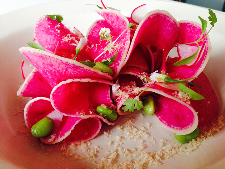 up the freshness with watermelon radish is the Watermelon Radish Salad ...