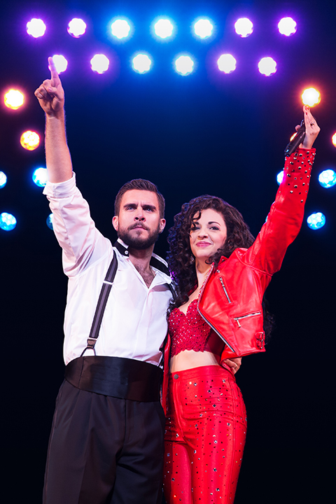 MSM Miami Shoot Magazine-JanFeb2016-Cover Feature-1-2716_Josh Segarra and Ana Villafañe as Emilio and Gloria Estefan in ON YOUR FEET! (c) Matthew Murphy_small