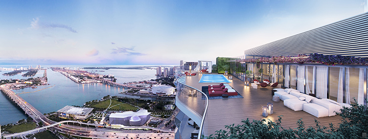 MSM Miami Shoot Magazine-Auberge Residences and Spa-Downtown-Living-Rooftop