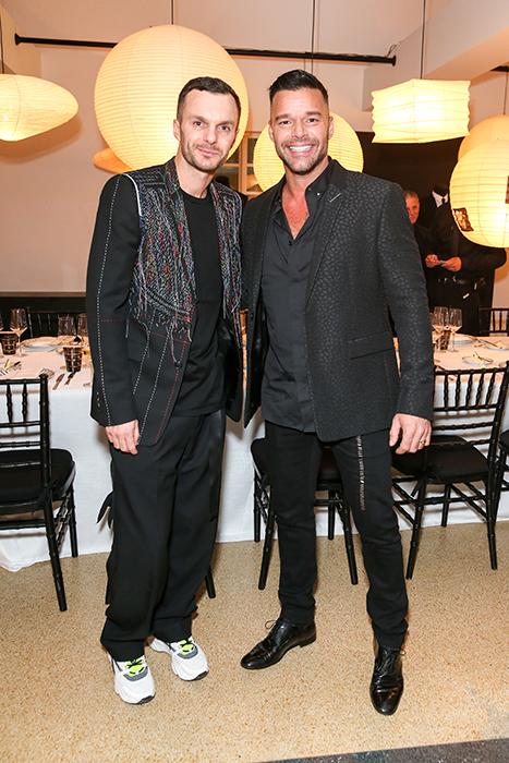 Kris Van Assche, Ricky Martin
