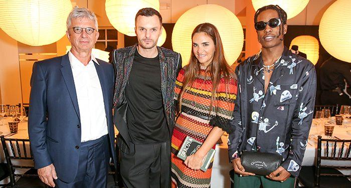Kris Van Assche, Laure Heriard Dubreuil, A$AP Rocky