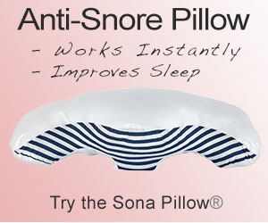Sona Pillow - Top Anti-Snore Pillow