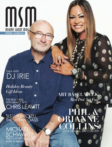 Phil_Collins_Orianne_Collins__MIAMI_SHOOT_MAGAZINE_COVER_NOVEMBER_DECEMBER_ISSUE_2014
