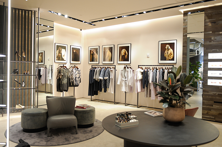 MIAMI, FL - MAY 14:  General view of atmosphere at Max Mara celebrates Maison & Objet Americas with William WegmanÕs Dogs in Coats at Max Mara Miami on May 14, 2015 in Miami, Florida.  (Photo by Sergi Alexander/Getty Images for Max Mara)