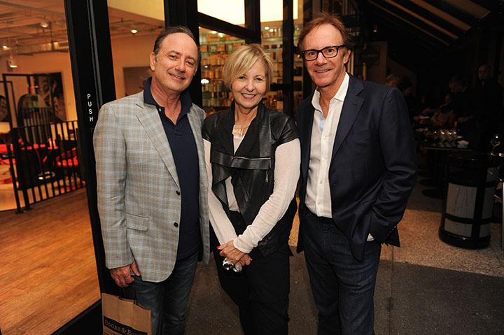 David Stone, Cathy Leff, & Ron Belini