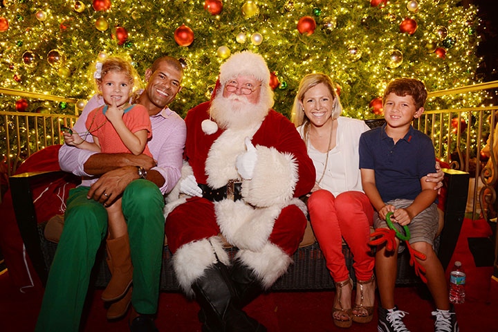 Shane Battier & family