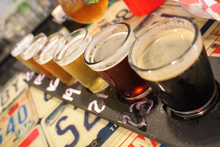 MSM Miami Shoot Magazine-The Filling Station-Beer Flight