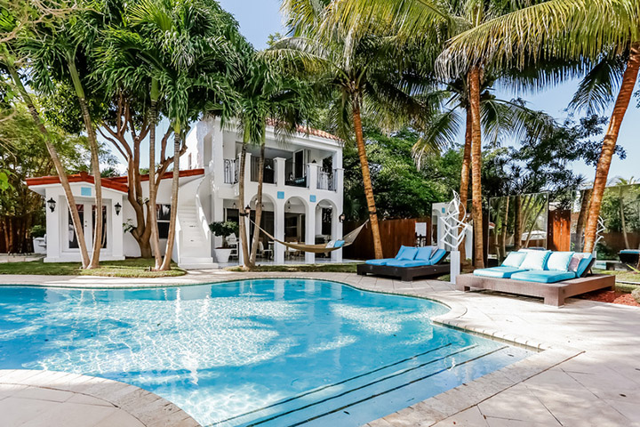 Welcome Home To This Private Mediterranean Estate In South Beach