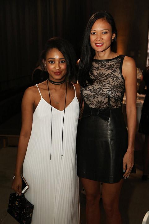 Ria Michelle & Criselda Breene