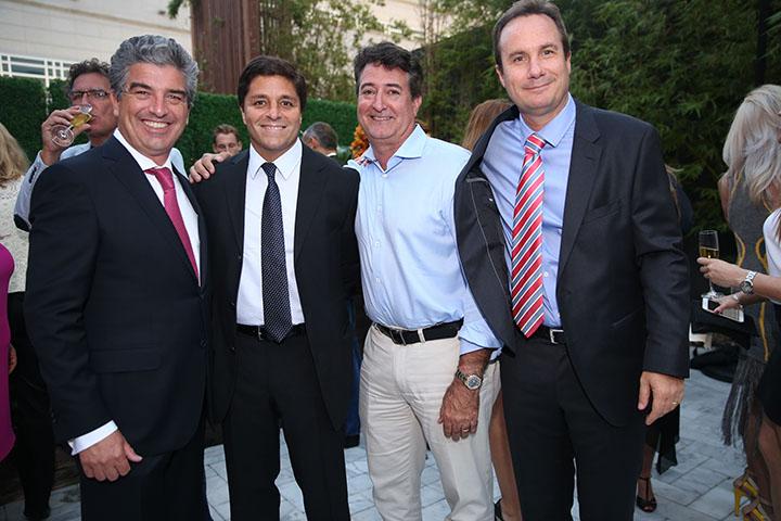 Carlos Russo, Raimundo Onetto, Henry Pinto, Rodrigo Gana