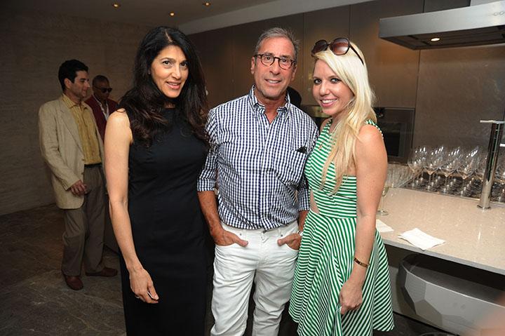 Lori Citti, David Granoff, & Guest