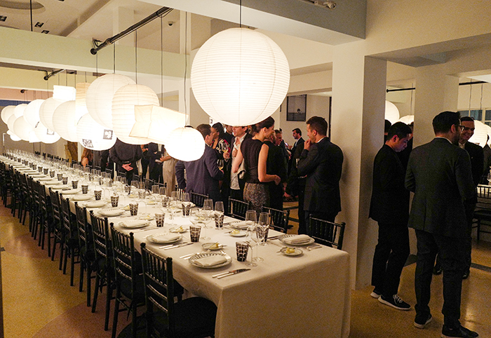 Dior Homme, Laffanour Galerie Downtown & The Webster host : private dinner to celebrate the launch of Black Carpet